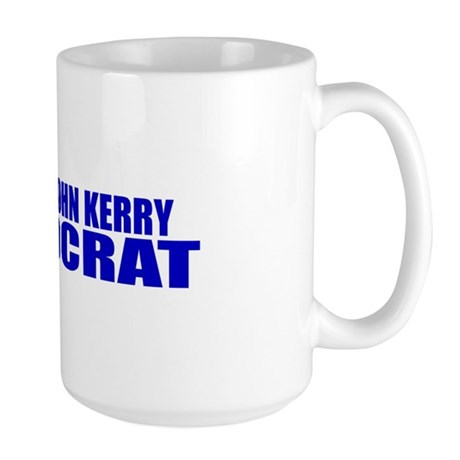 John Kerry Defeatocrat Large Mug