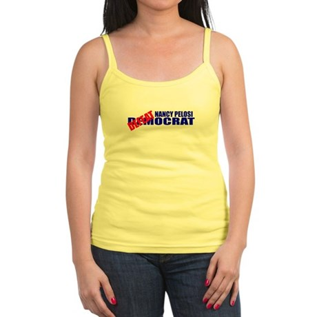 Nancy Pelosi Defeatocrat Jr. Spaghetti Tank