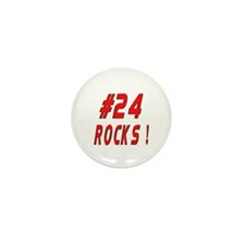 24 Rocks ! Mini Button (100 pack)
