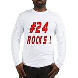 24 Rocks ! Long Sleeve T-Shirt