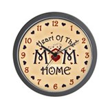 MOM Heart of the Home Wall Clock