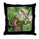 Unique Animals Throw Pillow