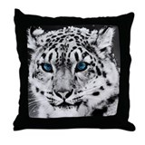 Cute Leopard Throw Pillow