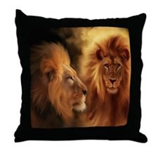 Cute Lion Throw Pillow