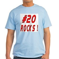 20 Rocks ! Ash Grey T-Shirt