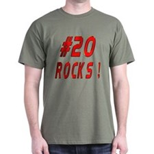 20 Rocks ! Black T-Shirt