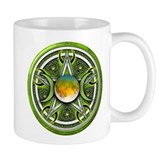 Green Triple Goddess Pentacle Mug