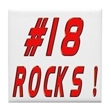 18 Rocks ! Tile Coaster