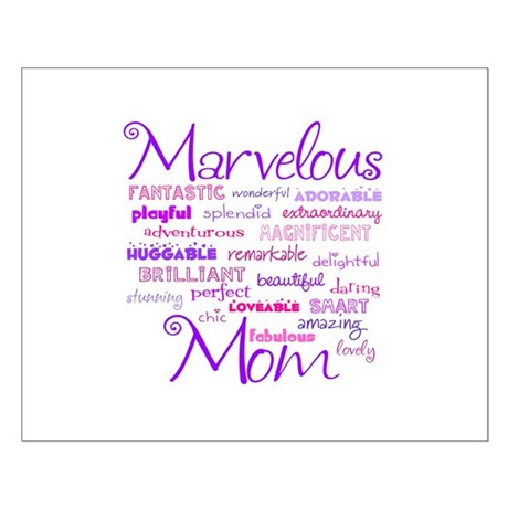 Marvelous Mom Small Poster