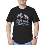 Glub Glub Men's Fitted T-Shirt (dark)