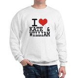I LOVE KATE and WILLIAM Sweatshirt