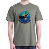 318th Training Squadron Black T-Shirt