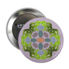 "Frog Mandala 2.25&Quot; But 2.25"" Button (10 Pack)"