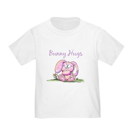 Bunny Hugs Toddler T-Shirt