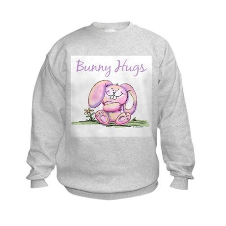 Bunny Hugs Kids Sweatshirt