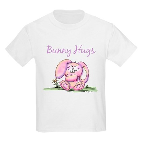 Bunny Hugs Kids T-Shirt