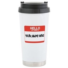 HELLO Ceramic Travel Mug
