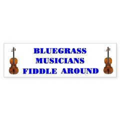 Bluegrass Musicians Fiddle Around