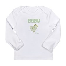 Baby Bird Custom Long Sleeve Infant T-Shirt