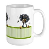 Bee Nice Dapple Dachshund Mug