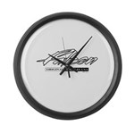 Falcon Large Wall Clock