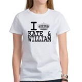 KATE and WILLIAM CROWN Tee