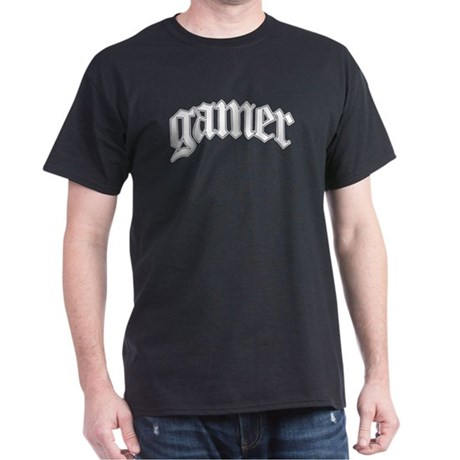Gamer GTA Style Black T-Shirt