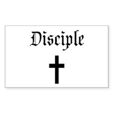 Disciple Rectangle Decal