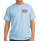 100% American (Double-Sided) T-Shirt