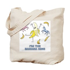 Banana King Tote Bag