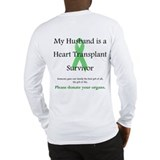 Husband Heart Transplant Long Sleeve T-Shirt
