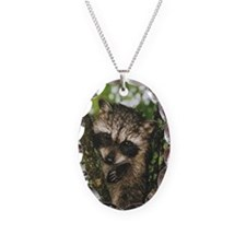 Baby Raccoon Necklace