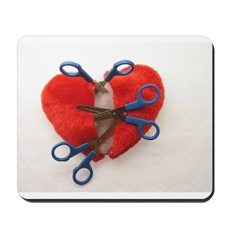 Open heart surgery Mousepad