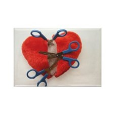 Open heart surgery Rectangle Magnet