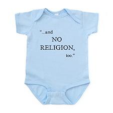 Imagine No Religion Onesie