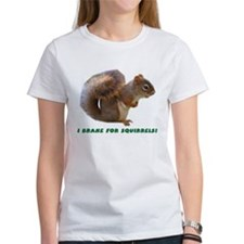 """I Brake for Squirrels"" Tee"