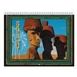 Easter Island Rapa Nui Wall Calendar