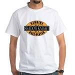 Genuine Shadow Knight Gamer White T-Shirt