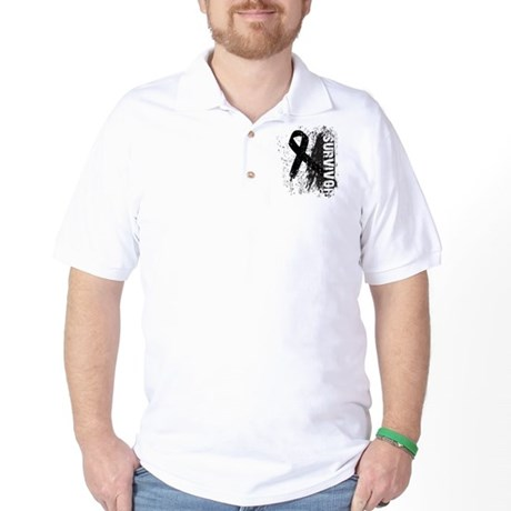 Survivor Skin Cancer Golf Shirt