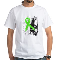 Survivor Non-Hodgkin's White T-Shirt