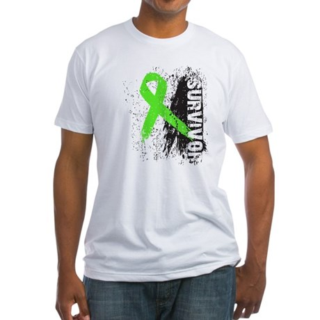 Survivor Non-Hodgkin's Fitted T-Shirt