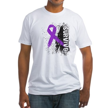 Survivor Leiomyosarcoma Fitted T-Shirt