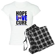 Male Breast Cancer HopeLoveCu Pajamas