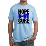 Male Breast Cancer HopeLoveCu Shirt