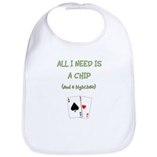 """Chip and a Chair"" Bib"