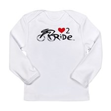 Love 2 ride 2 Long Sleeve Infant T-Shirt