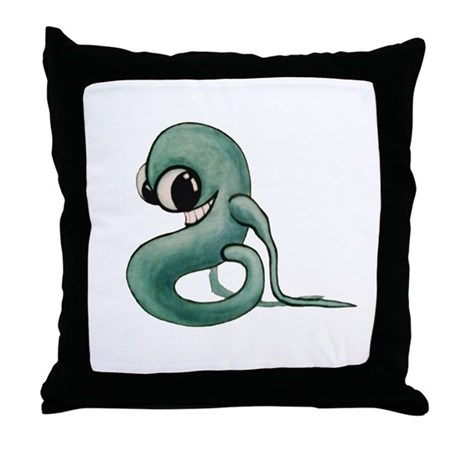 That Creep Throw Pillow By Eva Snow