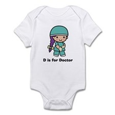D is for Doctor Onesie