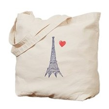 Paris in Love - Tote Bag