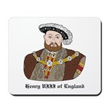 King Henry VIII Mousepad